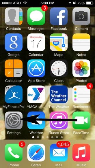 iPhone, iPad, iPod, Apple Screen Shot