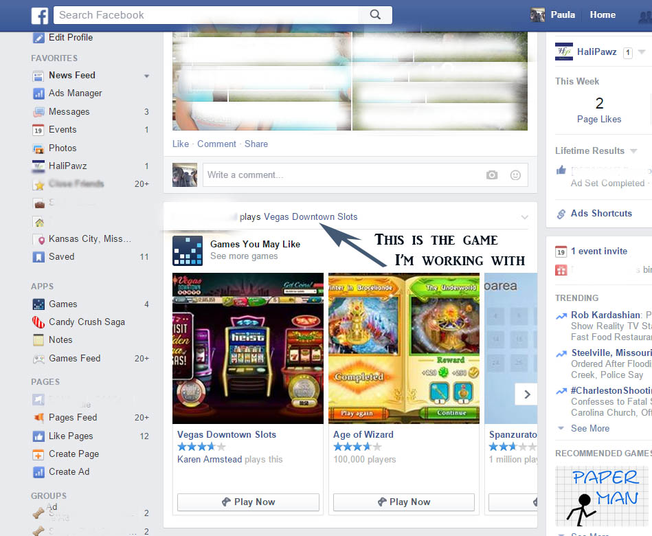 facebook games Facebook instant games instant games is a new way for people to play games across facebook platforms, powered by html5 technology, in messenger or news feed across devices.