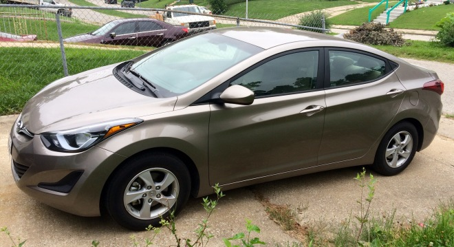 Rental Car 2015 Hyundai Elantra