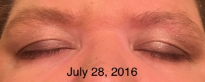 Eyelashes after using Revitalash Advanced eyelash conditioner 4320