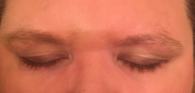 Eyelashes after using Revitalash Advanced eyelash conditioner 4335
