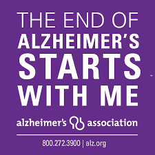 End of Alzheimers starts with me